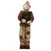 Vickerman Co. Decorative Plush Autumn Standing Scarecrow