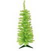 Vickerman Co. 3' Chartreuse Green Artificial Pencil Christmas Tree with Green Lights