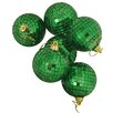 Vickerman Co. Mirrored Glass Disco Ball Christmas Ornament (Set of 6)