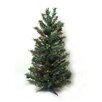 Vickerman Co. 2' Canadian Pine Artificial Christmas Tree with Multi Lights