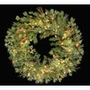 Vickerman Co. Mixed Country Pine Artificial Christmas Wreath with Lights