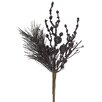 Vickerman Sparkling Glittered Ball and Pine Christmas Spray