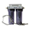 CuZn Water Systems Refillable Double Housing Under Counter Fluoride Filter