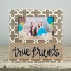 Glory Haus True Friends with Burlap Picture Frame