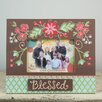 Glory Haus Blessed Floral Picture Frame
