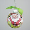 Glory Haus Santa in Sleigh Ornament