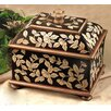 JB Hirsch Home Decor Foliage Wooden Box