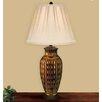 "JB Hirsch Home Decor Palamino Vase Porcelain 29"" H Table Lamp"