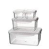 Kinetic Go Green Tritan 8 Piece Rectangular Food Storage Container Set