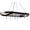 Kinetic Classicor Wrought-Iron Hanging Oval Pot Rack