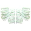Kinetic GoGreen Glassworks 36-Piece Oven Safe Glass Food Storage Container Set