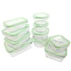 Kinetic Glassworks 20-Piece Oven Safe Glass Food Storage Container Set