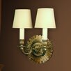 Martinez Y Orts 2 Light Semi-Flush Wall Light