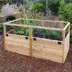 6 ft x 3 ft Cedar Raised Garden - Outdoor Living Today Planters