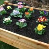 Elevated 4 ft x 3 ft Cedar Raised Garden - Outdoor Living Today Planters