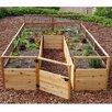 8 ft x 12 ft Western Red Cedar Raised Garden - Outdoor Living Today Planters