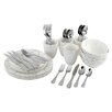 Oneida Symphony Grey & Countess 36 Piece Dinnerware Set