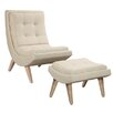 Gail's Accents Nantucket Chair and Ottoman