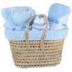 Clair De Lune Marshmallow Baby Moses Basket