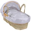 Clair De Lune Whales Palm Moses Basket