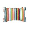 Mozaic Company Corded Colorful Stripes Outdoor Lumbar Pillow (Set of 2)