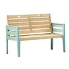 Norfolk Leisure Florenity 2 Seater Timber Bench