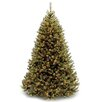 National Tree Co. Rocky Ridge 7' Green Pine Artificial Christmas Tree with 750 Clear Lights and Stand