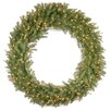 National Tree Co. Norwood Fir Pre-Lit Wreath with 300 Clear Lights
