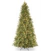 National Tree Co. Tiffany Fir 12' Green Artificial Christmas Tree with 1200 Clear Lights and Stand