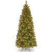 "National Tree Co. Tacoma 7'6"" Green Pine Artificial Christmas Tree with 500 Clear Lights and Stand"