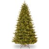 National Tree Co. 7.5' Green Woodward Fir Artificial Christmas Tree with 750 Clear Lights and Stand