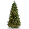 National Tree Co. Jersey Fraser Fir 7.5' Green Artificial Christmas Tree  with 800 Clear Lights and Stand