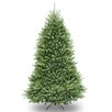 National Tree Co. Dunhill Fir 7.5' Hinged Green Artificial Christmas Tree and Stand