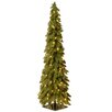 National Tree Co. 4' Green Downswept Artificial Christmas Tree with 100 Colored & Clear Lights