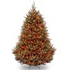 National Tree Co. Natural Fraser 7.5' Green Medium Fir Artificial Christmas Tree with 1000 Colored & Multi Color Lights