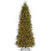 National Tree Co. Jersey Fraser Fir 7.5' Green Artificial Christmas Tree with 650 Clear Lights and Stand