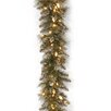 National Tree Co. Glittery Bristle Pine Pre-Lit Garland