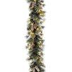 National Tree Co. Pre-Lit Glitter Pine Garland
