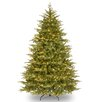 National Tree Co. Nordic 7.5' Green Spruce Artificial Christmas Tree with 900 Clear Lights and Stand