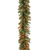 National Tree Co. Norwood Fir Pre-Lit Garland with 50 Battery-Operated Lights