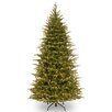 National Tree Co. Nordic 7.5' Green Spruce Artificial Christmas Tree with 750 Clear Lights and Stand