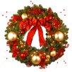 National Tree Co. Pre-Lit Cozy Christmas Wreath