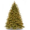 National Tree Co. Nordic 7.5' Green Spruce Artificial Christmas Tree with 1000 Clear Lights and Stand