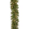 National Tree Co. Atlanta Spruce Pre-Lit Garland