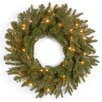 National Tree Co. Tiffany Fir Pre-Lit Wreath