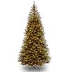 National Tree Co. Aspen Spruce 7.5' Hinged Artificial Christmas Tree with 450 Clear Lights