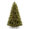 National Tree Co. Downswept Douglas 6' Green Fir Artificial Christmas Tree with 600 Clear Lights and Stand
