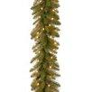 National Tree Co. Dunhill Fir Pre-Lit Garland