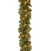 National Tree Co. Noble Deluxe Fir Pre-Lit Feel Real Garland