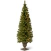 National Tree Co. Montclair Spruce 6' Green Artificial Christmas Tree with 150 Clear Lights